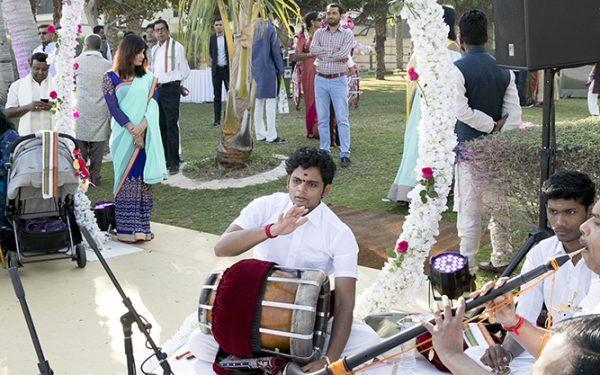 BAND SHADI INDIAN WEDDING STAGE