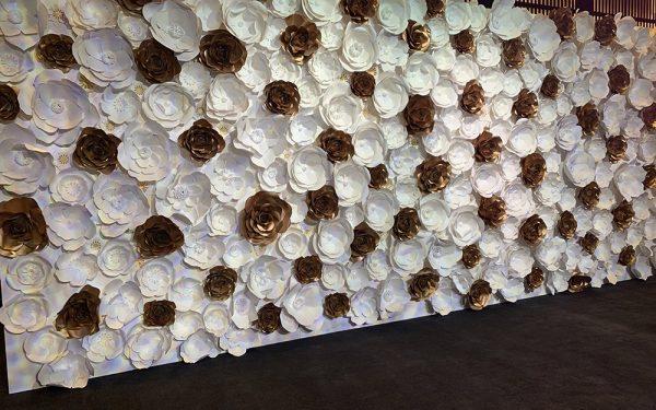 ARMANI HOTEL BALLROOM Paper flower