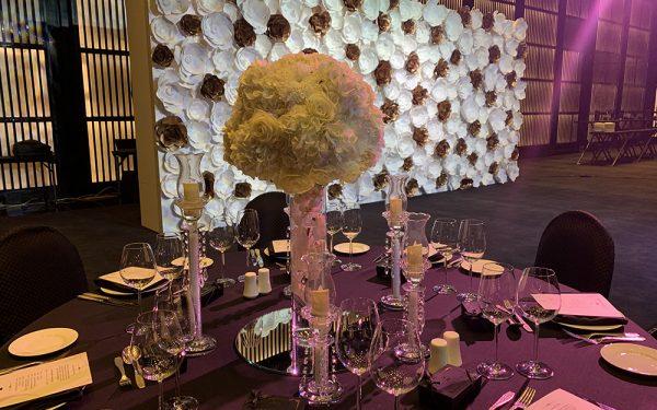 ARMANI HOTEL DOWNTOWN BURJ KHALIFA WEDDING PAPER FLOWER