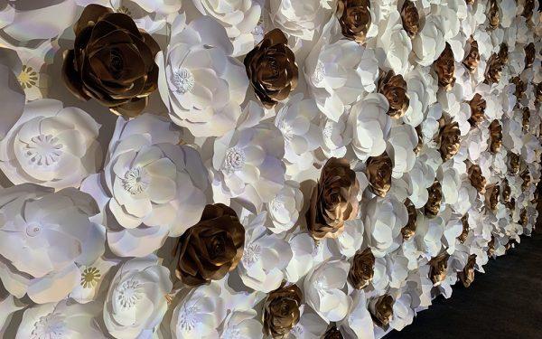 ARMANI HOTEL PAPER FLOWER