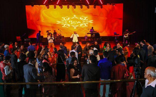 AV rental MUSIC HALL CEREMONY INDIAN WEDDING ZABEEL SARAY
