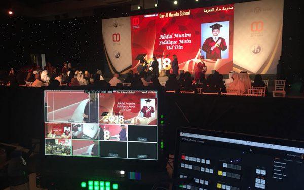 DAR ALMAREFA SCHOOL GRADUATION EVENT DUBAI MIRDIF AV RENTAL