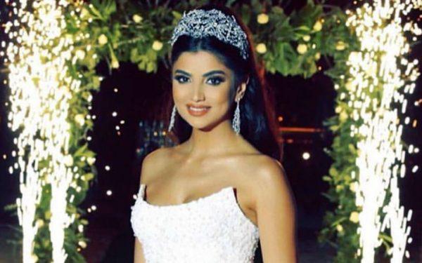 Ola Farahat wedding Dubai nikki beach hotel