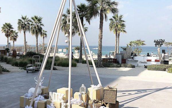Ola Farahat wedding lovely nikki beach dubai