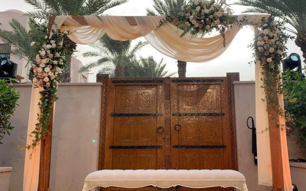 bride Magnolia al qasr madinat Jumeirah wedding