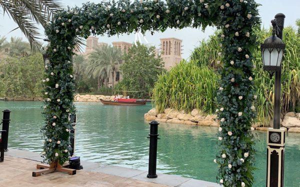 isel Magnolia al qasr madinat Jumeirah wedding