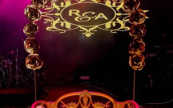 kosha MUSIC HALL CEREMONY INDIAN WEDDING ZABEEL SARAY
